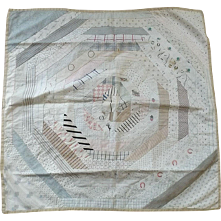 Pieced and Hand Quilted Doll Quilt