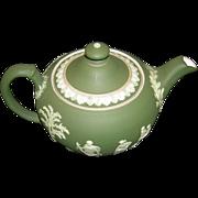 Wedgwood Dark Green Teapot