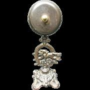 Victorian Bronze Jockey on Thoroughbred Counter Bell