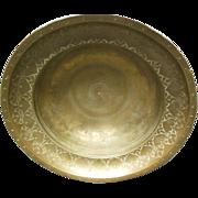 18th Century Brass Persian Bowl