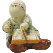 French Faience Quimper Baby by Savigny