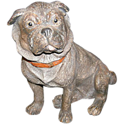 Austrian Terracotta Pug Dog
