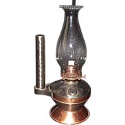 REDUCED Coppersmith / Tinsmith Made Combination Hand Lamp Show Piece !