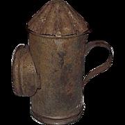 Rare Miniature Child's Toy Candle Lantern !  Circa 1900.