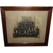 Original Photo of Civil War Veterans Group from West Chester,Pa. G.A.R. Post # 31.