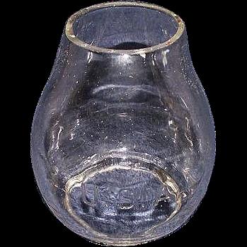 "Rare ""U.S.A."" marked Globe for United States Army Lantern !!! Circa WW-1."