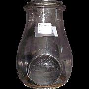 REDUCED Ham's No. 8 Lantern Globe with Bullseye Lens !!!  Patent Dated 1880's.