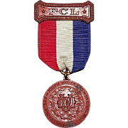 "REDUCED Rare ""Daughters of Union Veterans of the Civil War"" Medal complete with """