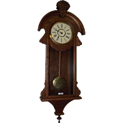 "REDUCED New Haven Clock Co.  ""CAMBRIA Time"" Model Wall Regulator in the more desirab"