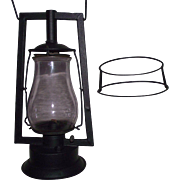 "REDUCED Rare Pre WW-1 DIETZ ""Square Lift Tubular"" Model Lantern Circa 1888 to 1904"