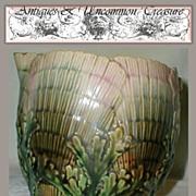 VR Etruscan Shell & Seawead Pattern Creamer, As Is