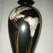 Belleek Kingfisher Vase