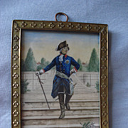 French Miniature of Louis XlV
