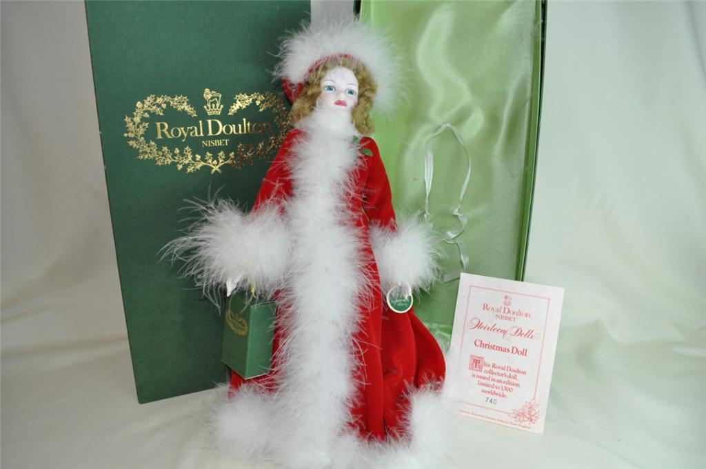 Royal Doulton Peggy Nisbet Christmas Doll