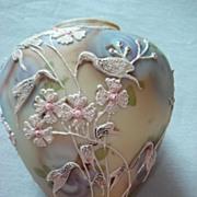 Moriage Royal Moriye Rare Bird Vase  c1906