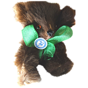 West Germany Original Fur Toy Teddy Bear