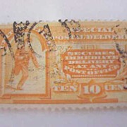 US Postage 1893 Special Delivery Stamp 10¢ E3