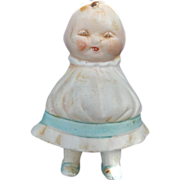Nippon Happifats Girl Doll All Bisque