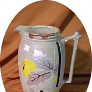 Pitcher Earthenware Stoneware Art Pottery Art Deco Early 20th Century