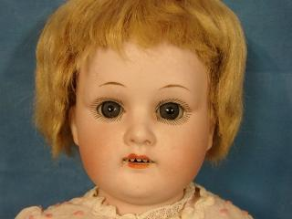 """Germany Bisque Doll Kid Body Signed Welsh & Co.MOA Max Oscar Arnold 18"""""""