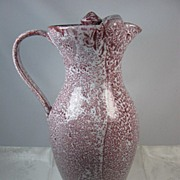 Cole Pottery Large Tea Pitcher Signed & Dated