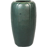 "Hampshire Pottery Matte Green 7 5/8"" Vase"
