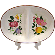 Stangl Fruit and Flowers Divided Vegetable Dish