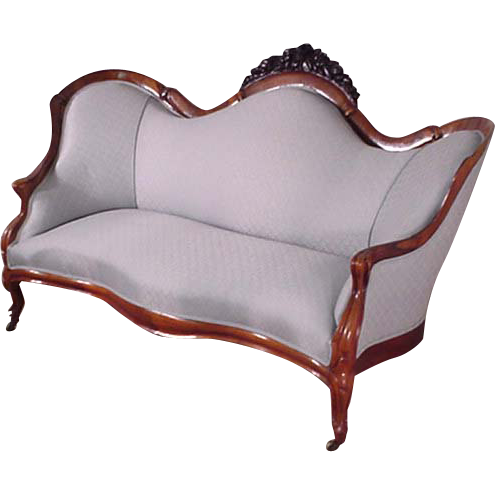 Belter Victorian Sofa, Couch, Rosewood
