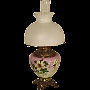Electrified Victorian Kerosene Lamp