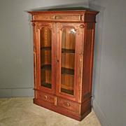 Renaissance Revival Victorian Bookcase