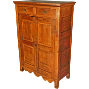 Early Walnut Cupboard, Jelly Cupboard