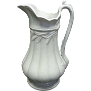 Ironstone Pitcher by Elmsmore & Forster