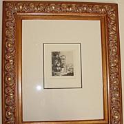 SALE Rembrandt Engraving