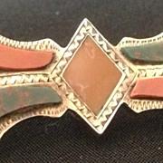 Scottish Agate Brooch/Pendant