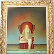 "Russian ""Nude Woman"" Painting - Igor Galanin"