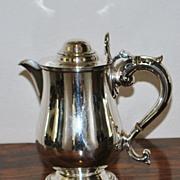 Elkington & Co. Silver Hot Water Jug - English -1856
