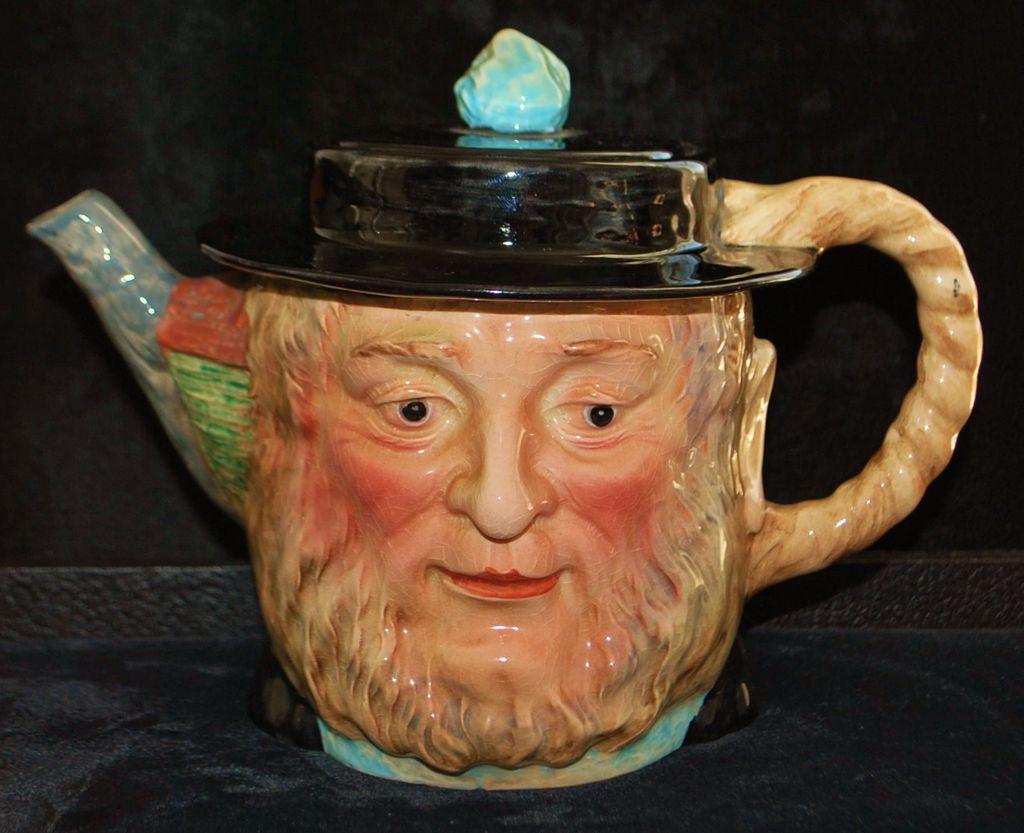 "Beswick Pottery Character Teapot - ""Peggotty"",1940's"