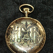 """Elgin """"Near Mint"""" Hunting Case Pocket Watch, 1917"""