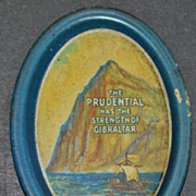 Prudential Insurance Advertising Tip Tray - 1940's
