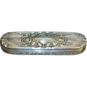Tiffany & Co. Sterling Silver  Art Nouveau  Dresser Box - 1910