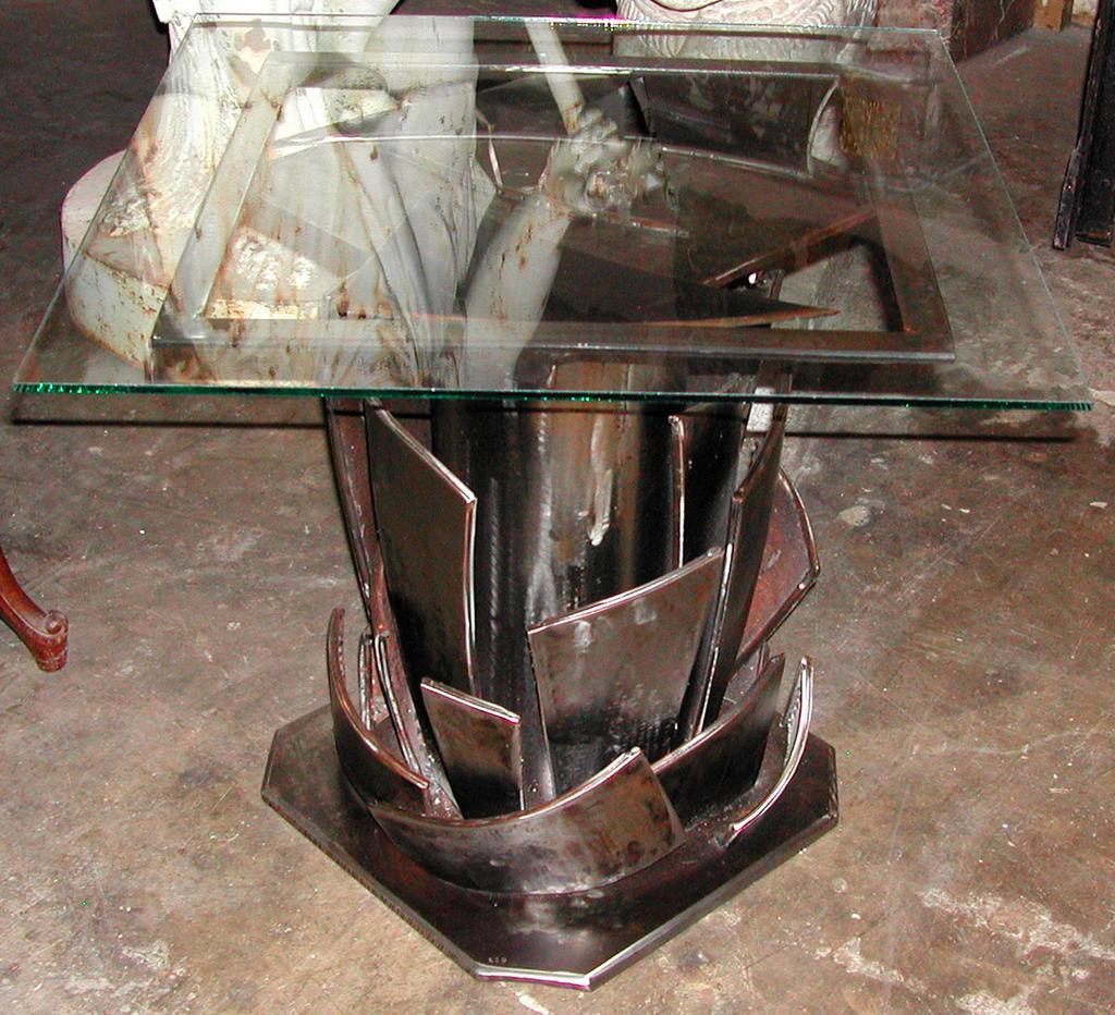 Original Modern Art Table