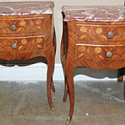 Pair of Louis XV Style Commodes