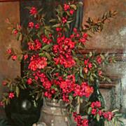 """Still-Life of Red Flowers"""