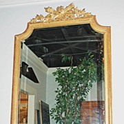 Neoclassical Style Giltwood Mirror