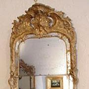 Swedish Giltwood Rococo Mirror