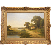19th C. Oil Painting on Canvas, Walter Heath Williams