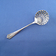 Cooper Brothers Silver Plated Bon Bon Nut Spoon Scoop