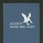 Audubon Water Bird Guide - 1951 Book