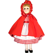 Effanbee Storybook Collector Doll - Little Red Riding Hood