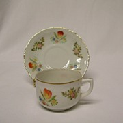 Occupied Japan Demitasse Cup and Saucer